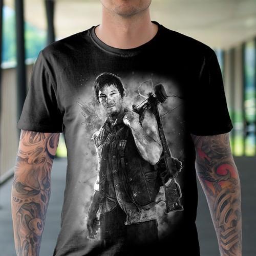 Koszulka Basic z Darylem - Tulzo