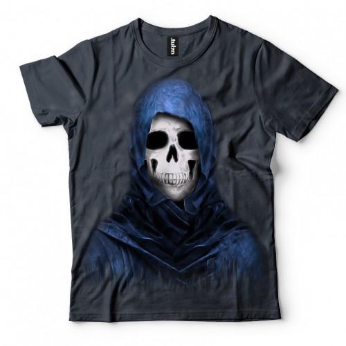 Koszulka z Niebieską Śmiercią | Śmierć | Koszulki 3D | Tulzo | - Tulzo
