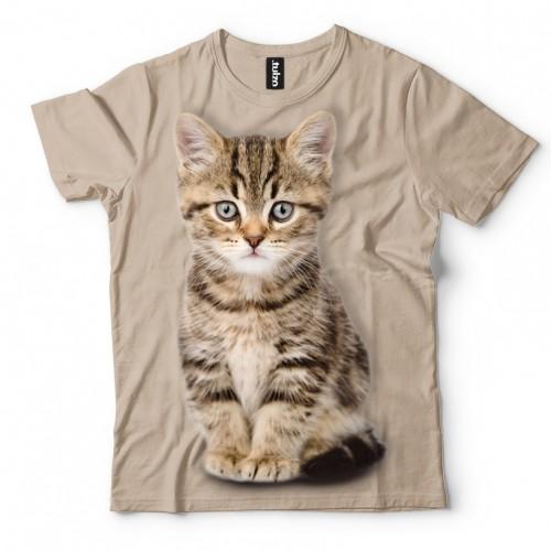 Koszulka z małym kotkiem | Kot | Kotem | Kotami | Koszulki 3D | Tulzo | - Tulzo