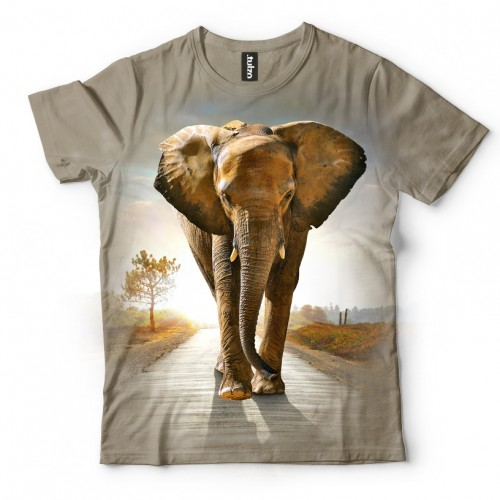Koszulka ze Słoniem | Słoń | Koszulki 3d | Koszulka 3d | t-shirt 3d | t-shirts 3d - Tulzo
