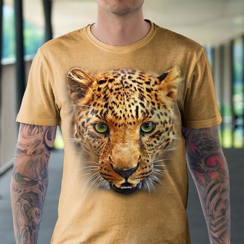 Koszulka z Puma | Koszulki 3d | Koszulka 3d | t-shirt 3d | t-shirts 3d - Tulzo