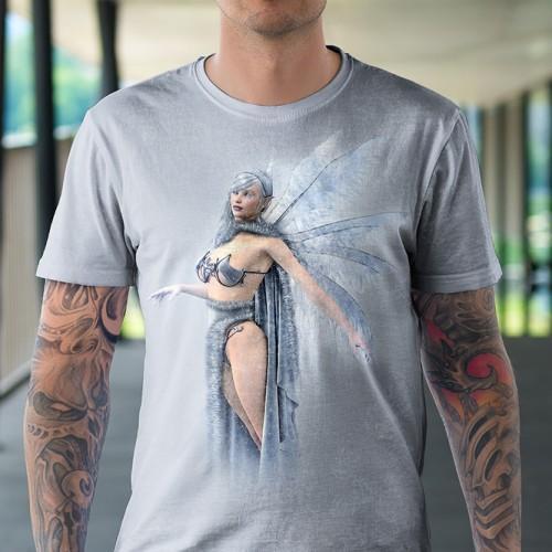 Koszulka z Niebieska Wróżka | Koszulki dla dzieci 3D | Tulzo - Tulzo