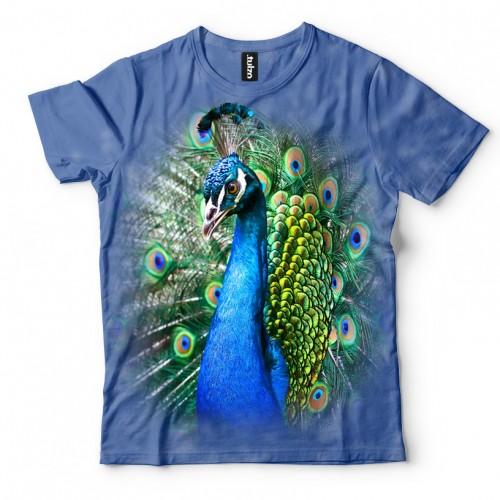 Koszulka z Pawiem  | Paw | Koszulki 3d | Koszulka 3d | t-shirt 3d | t-shirts 3d - Tulzo
