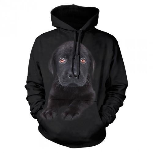 Bluza z Piesem Labradorem Czarny Szczeniak - Tulzo