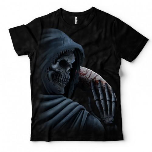 Koszulka z Śmiercią z Kosą | Koszulki Śmierć | Tulzo | - Tulzo