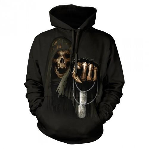 Bluza z Śmiercią You Are Next | Bluza | Bluzy | Bluzy 3D | Bluza 3d - Tulzo