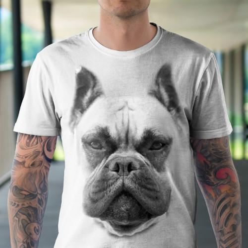 Koszulka Basic z Boxerem - Tulzo