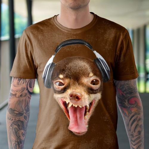 Koszulka z Pies DJ - Tulzo