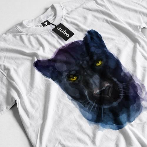 Koszulka z Panterą Czarną Tul-Art - Tulzo