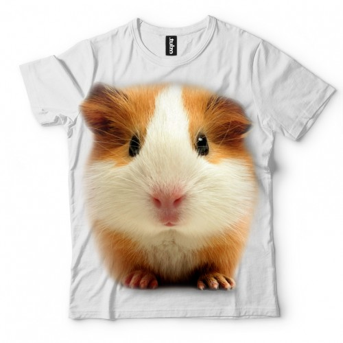 Koszulka z Świnką morską | Koszulki ze zwierzętami 3D | Tulzo - Tulzo