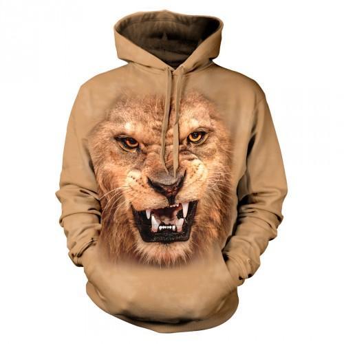 Bluza z lwem   Lew   Bluzy 3D   Tulzo - Tulzo