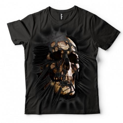 Koszulka z Czaszką wychodząca z koszulki | Czaszka | Tulzo - Tulzo