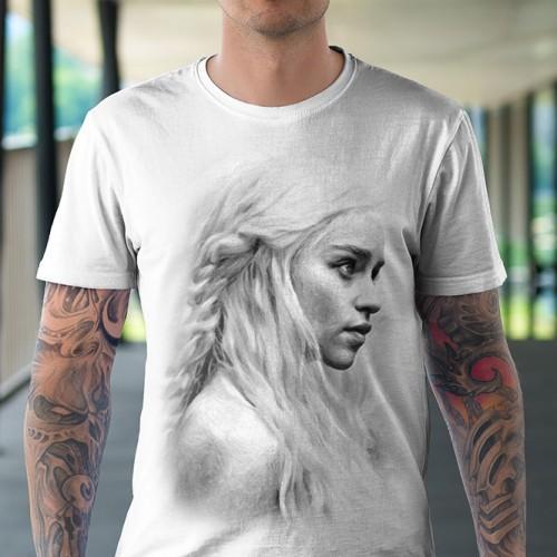 Koszulka Basic z Daenerys - Tulzo