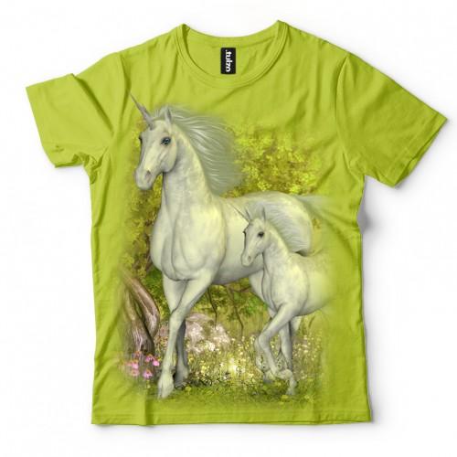 Koszulka z Jednorożcami | Jednorożce | Koszulki dla dzieci | Tulzo - Tulzo