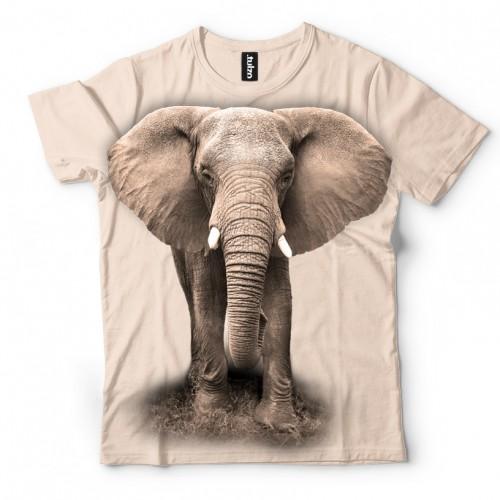 Koszulka ze Słoniem | Słoń | Koszulki 3d | Koszulka 3d | t-shirt 3d | t-shirts 3d | Tulzo - Tulzo