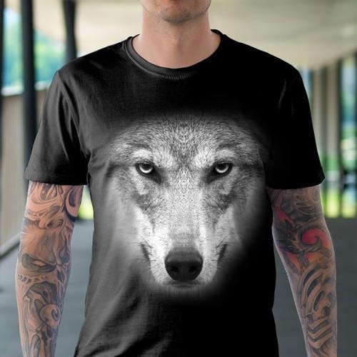 Koszulka Basic z Wilkiem - Tulzo
