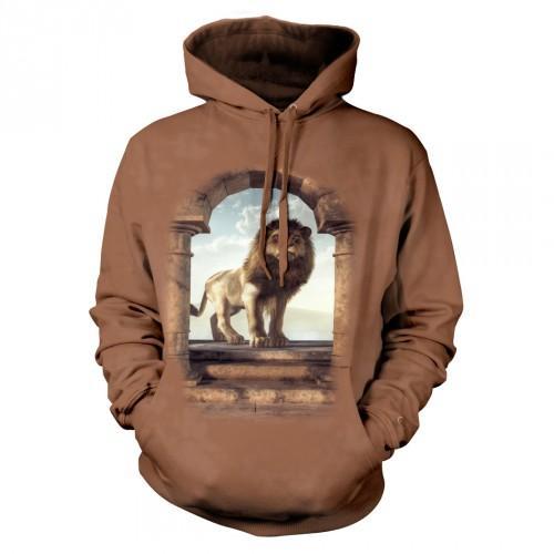 Bluza z Drzwiami do królestwa lwa | Bluza | Bluzy | Bluzy 3D | Bluza 3D - Tulzo