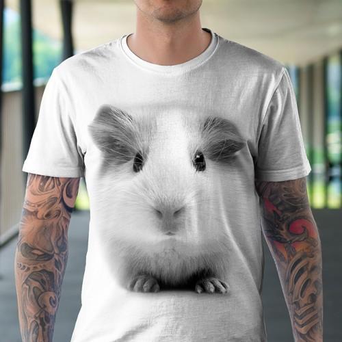 Koszulka Basic z Świnką morską - Tulzo