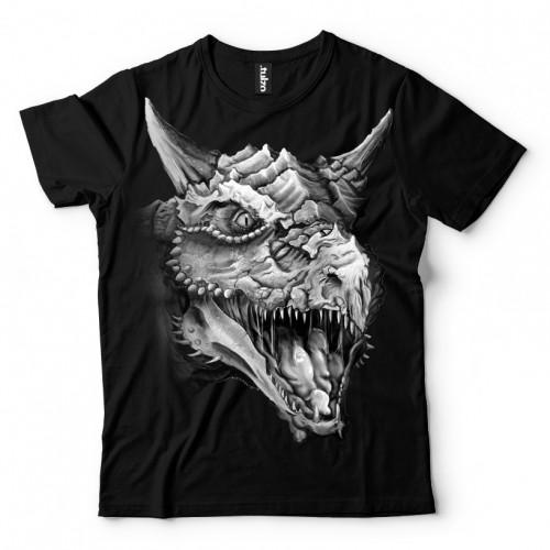 Koszulka Basic z Smokiem - Tulzo