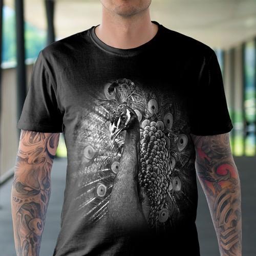 Koszulka Basic z pawem. - Tulzo