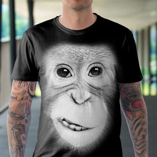 Koszulka Basic z Orangutanem - Tulzo