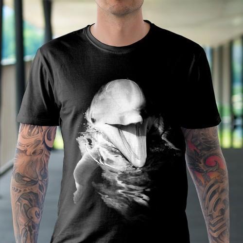 Koszulka Basic z Delfinem - Tulzo