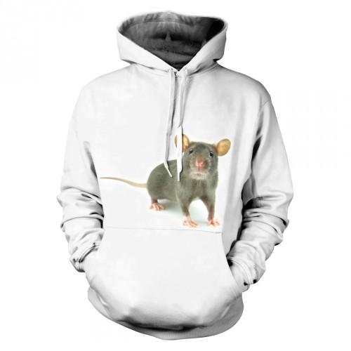 Bluza z Szczurkiem | Bluza | Bluzy | Bluzy 3D | Bluza 3D - Tulzo