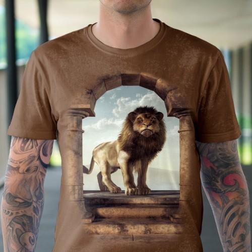 Koszulka z Drzwiami do królestwa lwa - Tulzo
