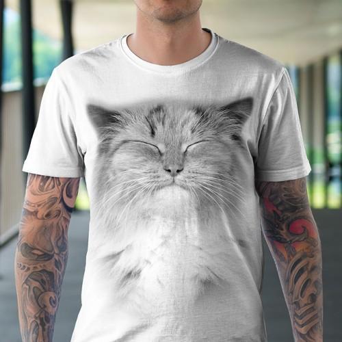 Koszulka Basic z Rudym Kotem - Tulzo