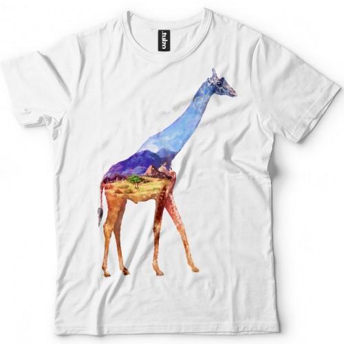 Koszulka z Żyrafą Tul-Art - Tulzo