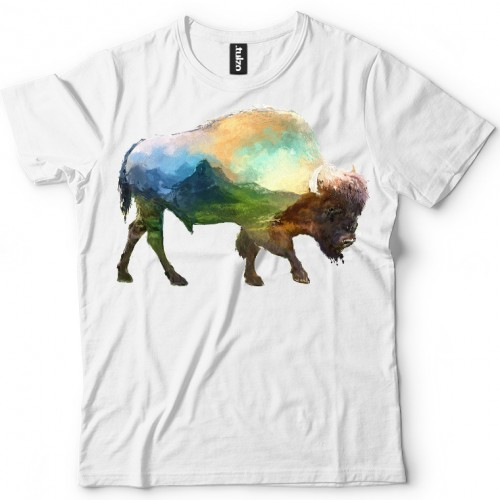 Koszulka z Bizon Tul-Art - Tulzo