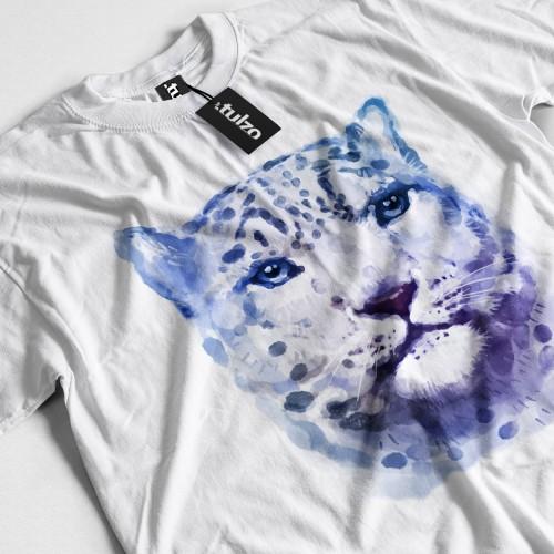 Koszulka z Panterą Śnieżną Tul-Art - Tulzo