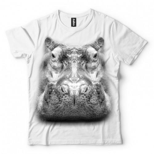 Koszulka Basic z Hipopotamem - Tulzo