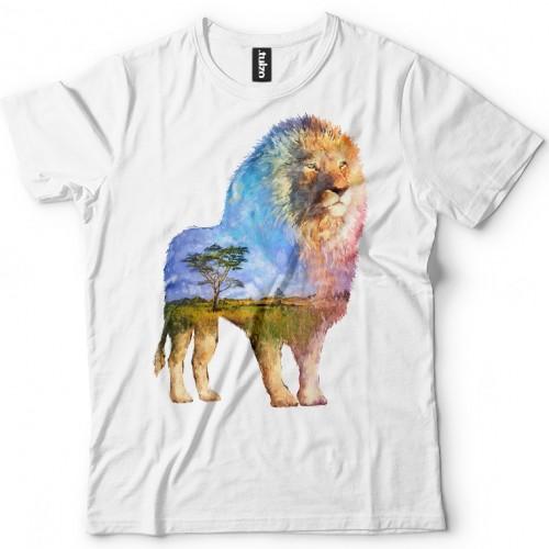 Koszulka z Lwem Tul-Art - Tulzo