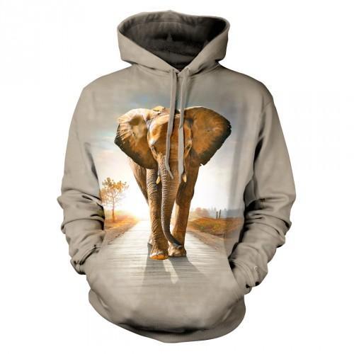 Bluza ze Słoniem | Słoń | Bluzy 3D | Tulzo - Tulzo