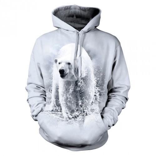 Bluza z Niedźwiedziem Polarnym - Tulzo