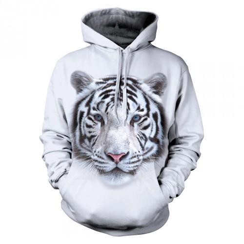 Bluza z Tygrysem Syberyjskim Białym - Tulzo