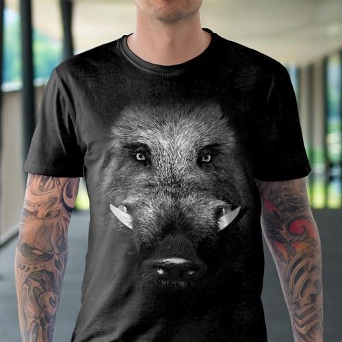 Koszulka Basic  z Dzikiem - Tulzo