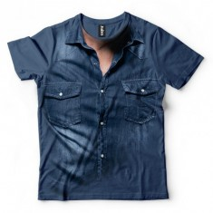 Jeans Shirt - Tulzo